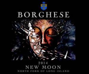 New Moon wine label